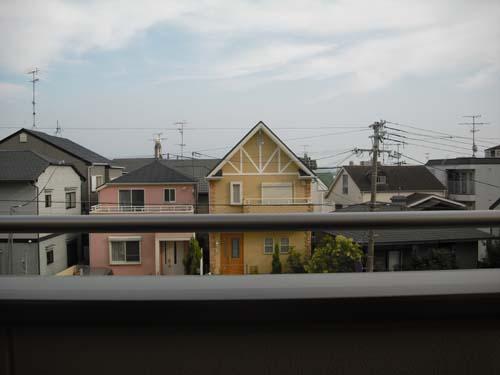 2階ベランダからの眺め