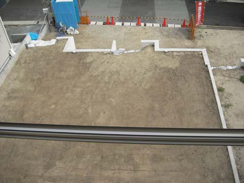 建築予定の敷地