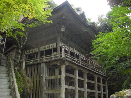 那谷寺の本殿