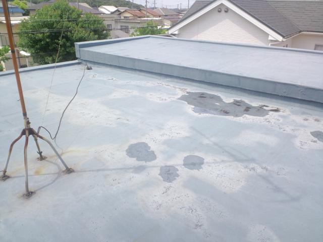 屋根防水改修1