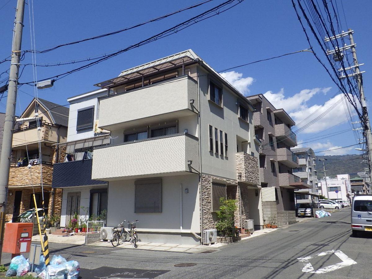 神戸市東灘区I様邸外装工事