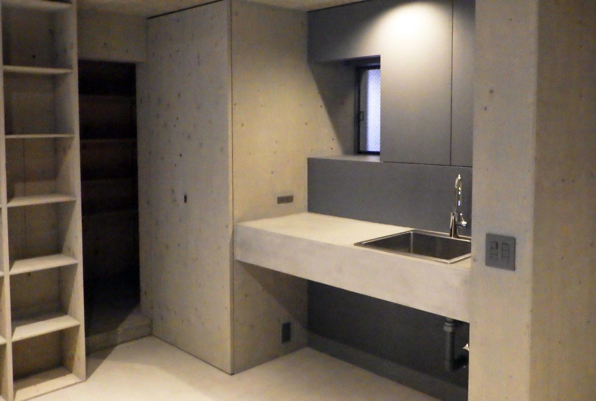 神戸市東灘区設計事務所新装工事