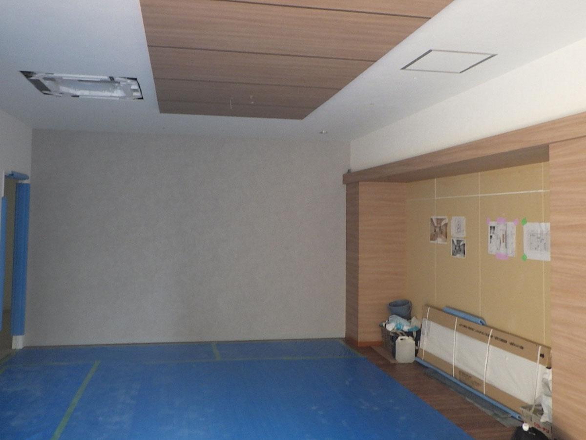 神戸市東灘区クリーニング店新装工事